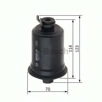 Фильтр топливный BOSCH  арт. 0986450111