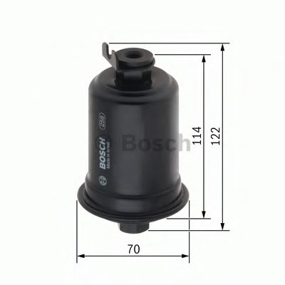 BOSCH ,F0604 H=123mm Фильтр топливный TOYOTA MITSUBISHI [-] BOSCH 0986450604