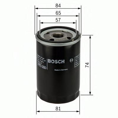 Фильтр масляный Bosch  арт. 0986452016