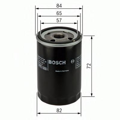 Фильтр масляный Bosch  арт. 0986452019
