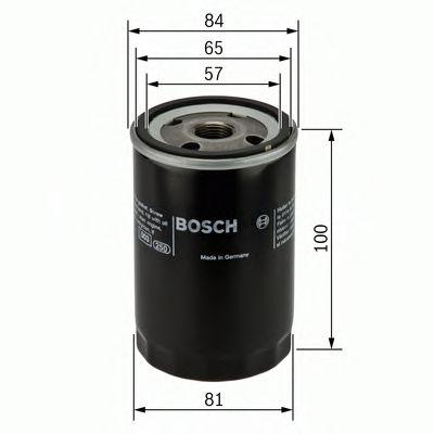 Фильтр масляный NISSAN (пр-во Bosch)                                                                  арт. 0986452023