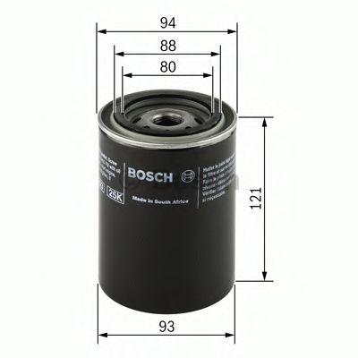 Масляный фильтр  арт. 0986452064