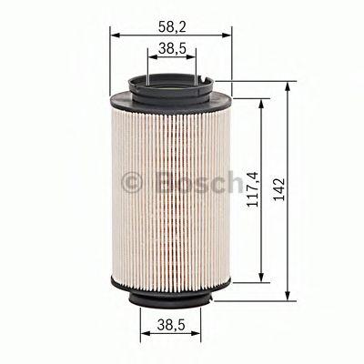 Фільтр палива BOSCH 1457070007