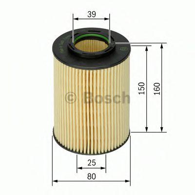Фильтр масляный Bosch  арт. 1457429141