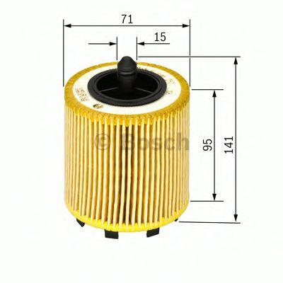 Фильтр масляный AUDI, SKODA, VW (пр-во Bosch)                                                        BOSCH арт. 1457429192