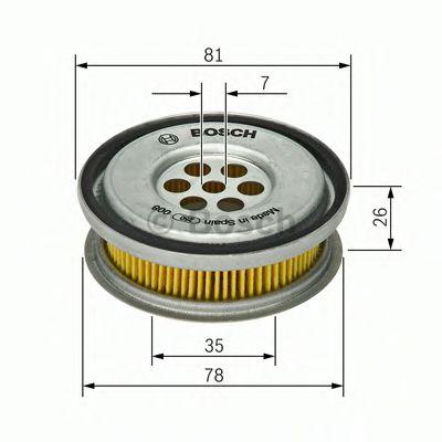 Фильтр гидравлический MB 190 (W201), C-CLASS (W202) (пр-во BOSCH)                                    BOSCH арт. 1457429416