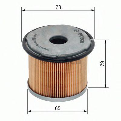 Фільтр палива BOSCH 1457431712