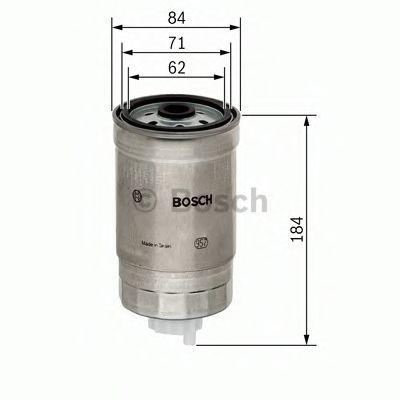 Фильтр топливный Bosch  арт. 1457434187