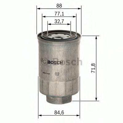 BOSCH ,N4201 H=71mm Фильтр топливный диз. FIAT IVECO PEUGEOT 1,5-2,5 RENAULT BOSCH 1457434201