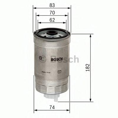 Фільтр палива BOSCH 1457434324