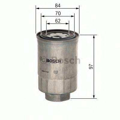 Фильтр топливный Bosch  арт. 1457434443