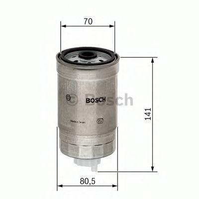 Фільтр палива BOSCH 1457434511