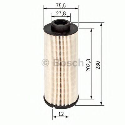 Фільтр палива BOSCH F026402029