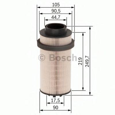 Фильтр топл. DAF (пр-во BOSCH)                                                                       WIXFILTERS арт. F026402031