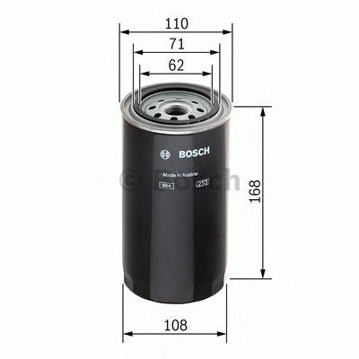 Фільтр палива BOSCH F026402034