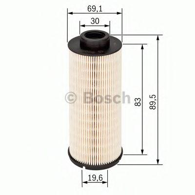 Фільтр палива BOSCH F026402047