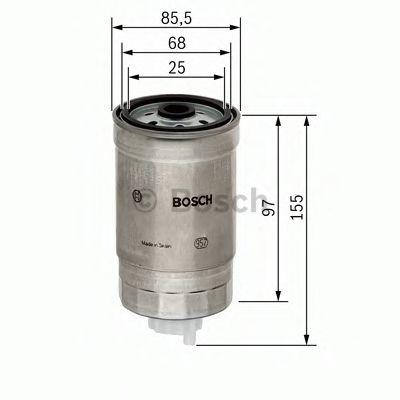 Фільтр палива BOSCH F026402048
