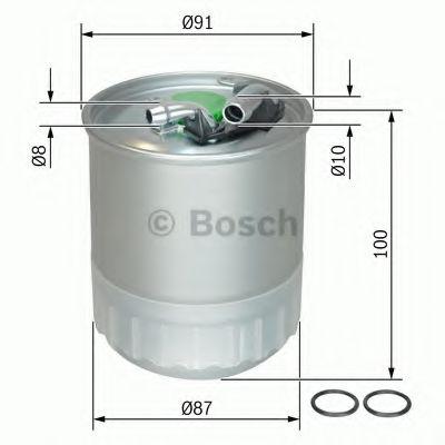 Фільтр палива BOSCH F026402056