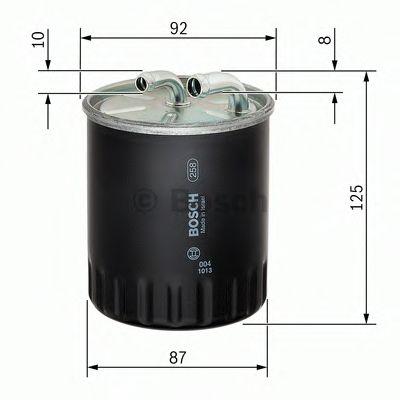 Фільтр палива BOSCH F026402065