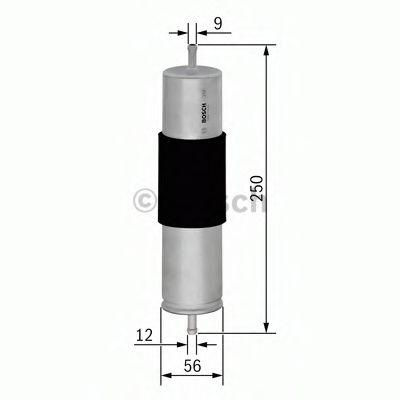 Фільтр палива BOSCH F026402066