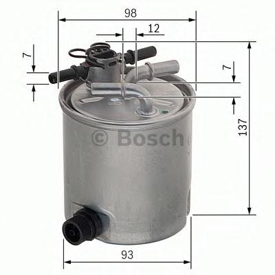 Фільтр палива BOSCH F026402096