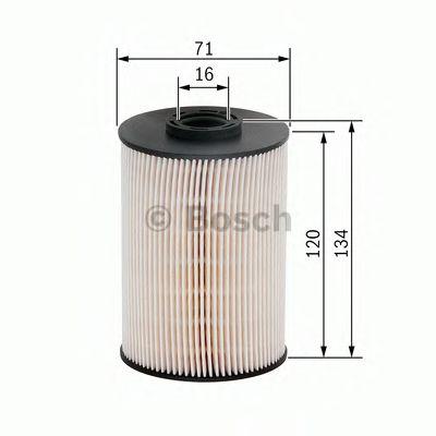 Фільтр палива BOSCH F026402101