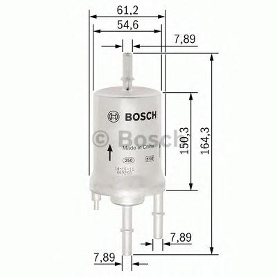 Фільтр палива BOSCH F026403006