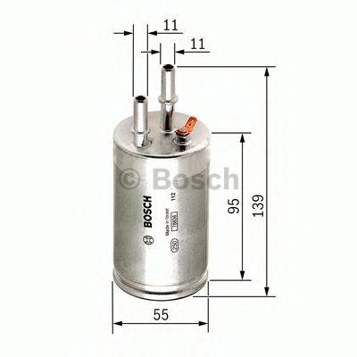 Фільтр палива BOSCH F026403014