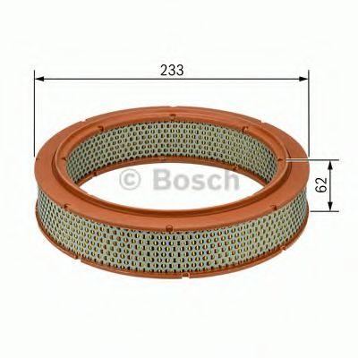 Фильтр воздушный ВАЗ 2101-2110 (карбюратор) (пр-во BOSCH)                                             арт. 1457432108