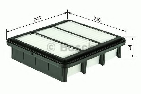 Воздушный фильтр  арт. 1457433580