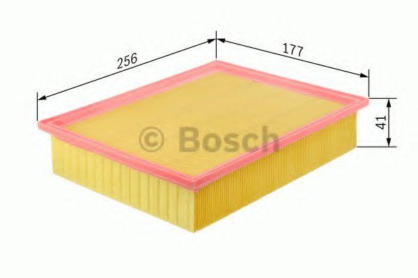 Фильтр воздушный FORD; MAZDA (пр-во Bosch)                                                           HENGSTFILTER арт. 1457433605