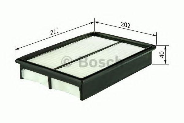 Фильтр воздушный DAEWOO LANOS 97- (пр-во Bosch)                                                      BOSCH арт. 1457433963