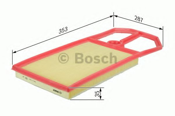 Фильтр воздушный Bosch  арт. F026400148