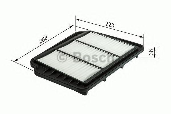 Воздушный фильтр  арт. F026400163