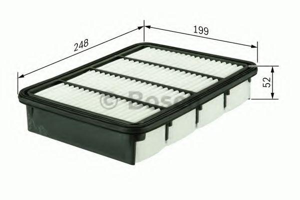 Воздушный фильтр  арт. F026400165