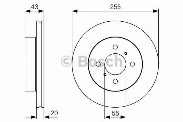 Тормозной диск  арт. 0986479S13