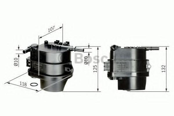 Фильтр топливный (пр-во Bosch)                                                                        арт. 0450907007