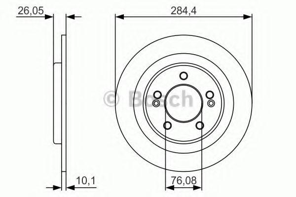 Тормозной диск  арт. 0986479A47