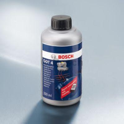 Тормозные жидкости Тормозная жидкость Bosch BRAKE FLUID DOT 4 (0,25л.)  арт. 1987479105