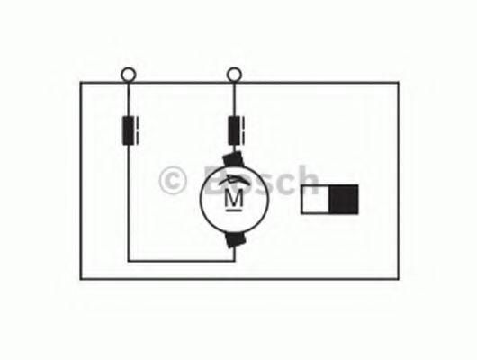 BOSCH Электродвигатель вентилятора печки RENAULT Magnum BOSCH 0130111042