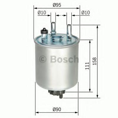 Фільтр палива BOSCH F026402082