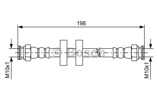 Датчик износа тормозных колодок  арт. 1987481581