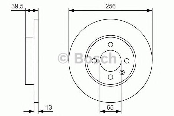 Тормозной диск  арт. 0986479T48