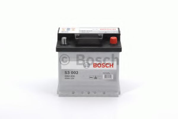 Аккумулятор   45Ah-12v BOSCH (S3002) (207x175x190),R,EN400                                            арт. 0092S30020