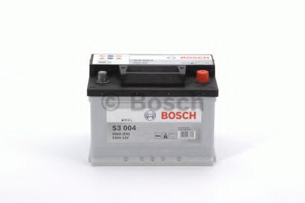 Аккумулятор Bosch S3 12V 53Ah 510a [-/+] 242x175x175  арт. 0092S30041