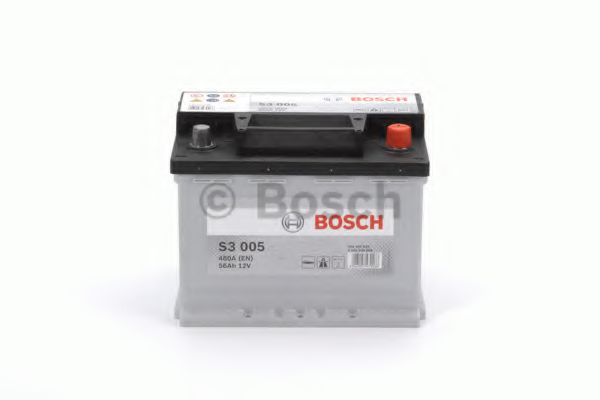 АКБ Bosch S3 005 56Ah/480A (-/+) 242x175x190  арт. 0092S30050