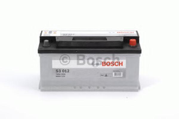 Аккумулятор   88Ah-12v BOSCH (S3012) (353x175x175),R,EN740