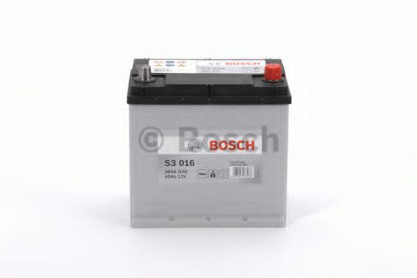 Аккумулятор Bosch 12V 45Ah 300A 200X135X225  арт. 0092S30160