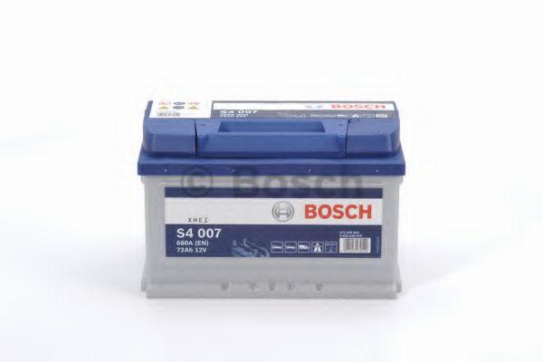 Аккумулятор Bosch (низкий) S4 Silver 72Ah, EN 680 правый