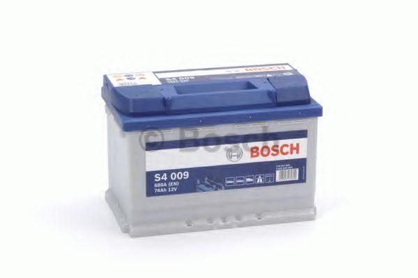 Аккумулятор   74Ah-12v BOSCH (S4009) (278x175x190),L,EN680